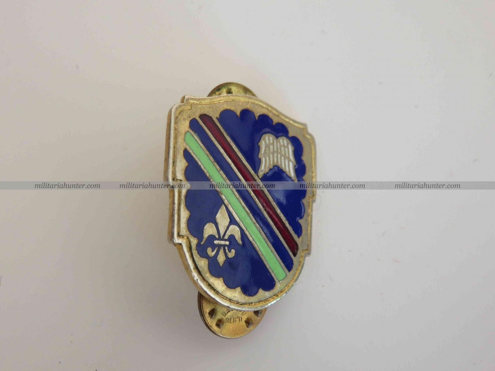 militaria : US Army 160th Infantry Regiment crest