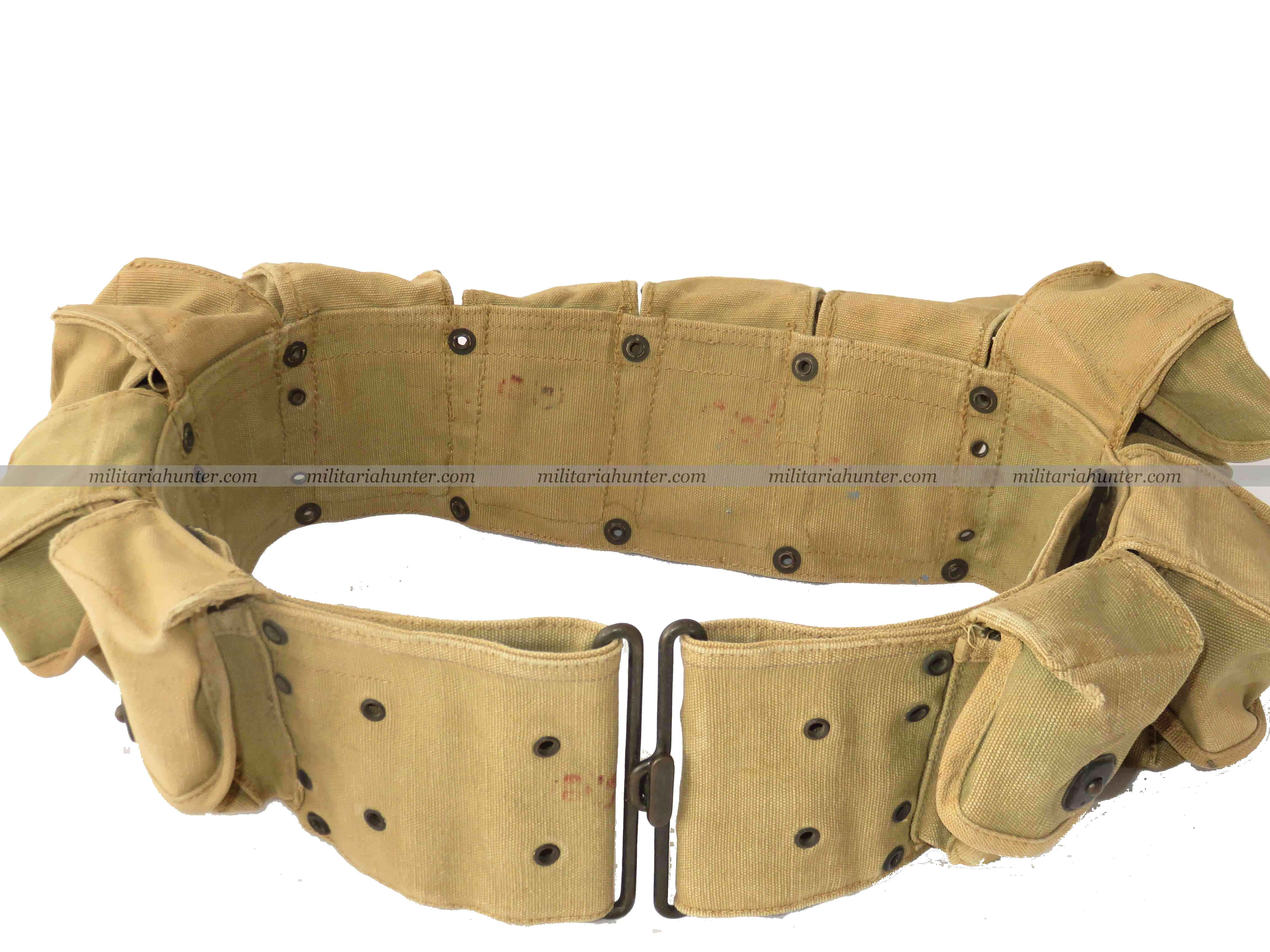 militaria : WW1 U.S. Model 1917, 10-Pocket Enlisted Man's Medical Belt