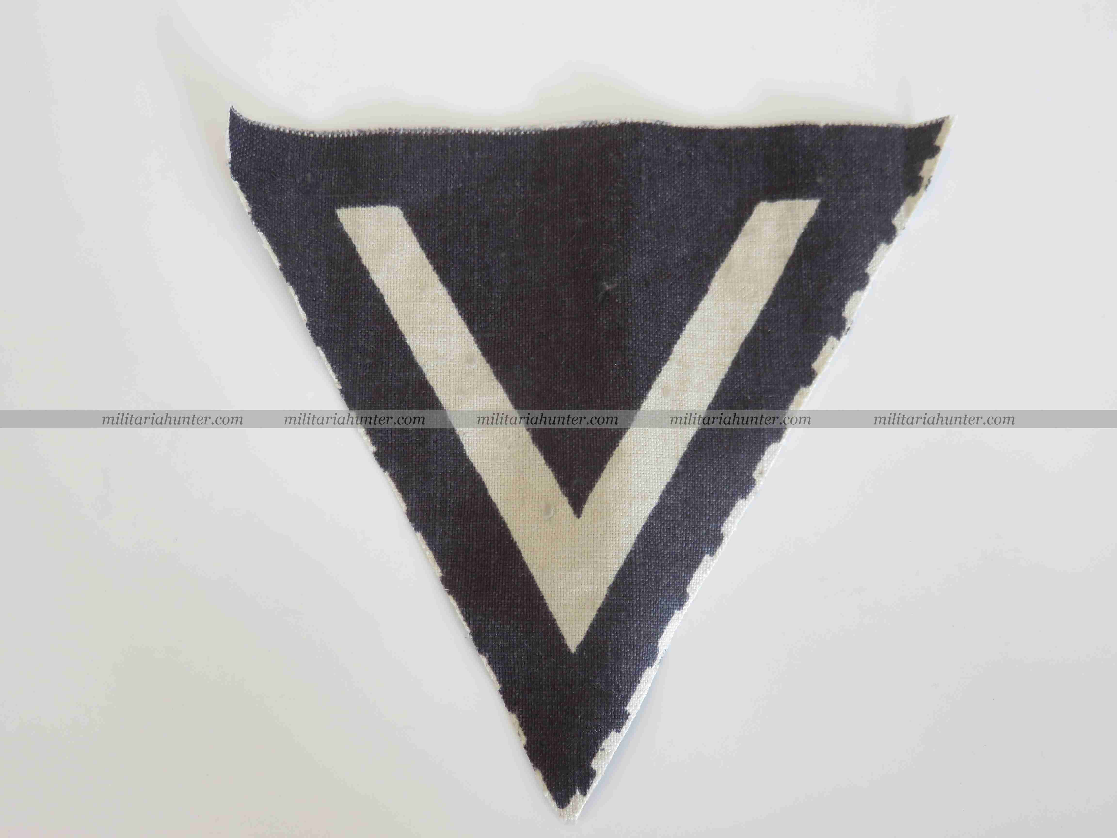 militaria : ww2 WSS or  Panzertruppen late war printed rank chevron