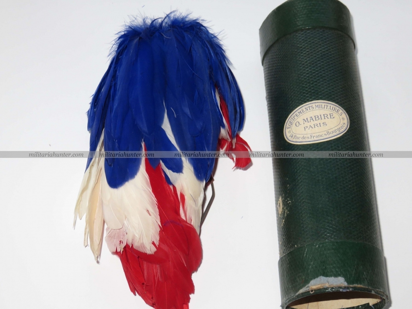militaria : Plumet d'officier d'Etat Major