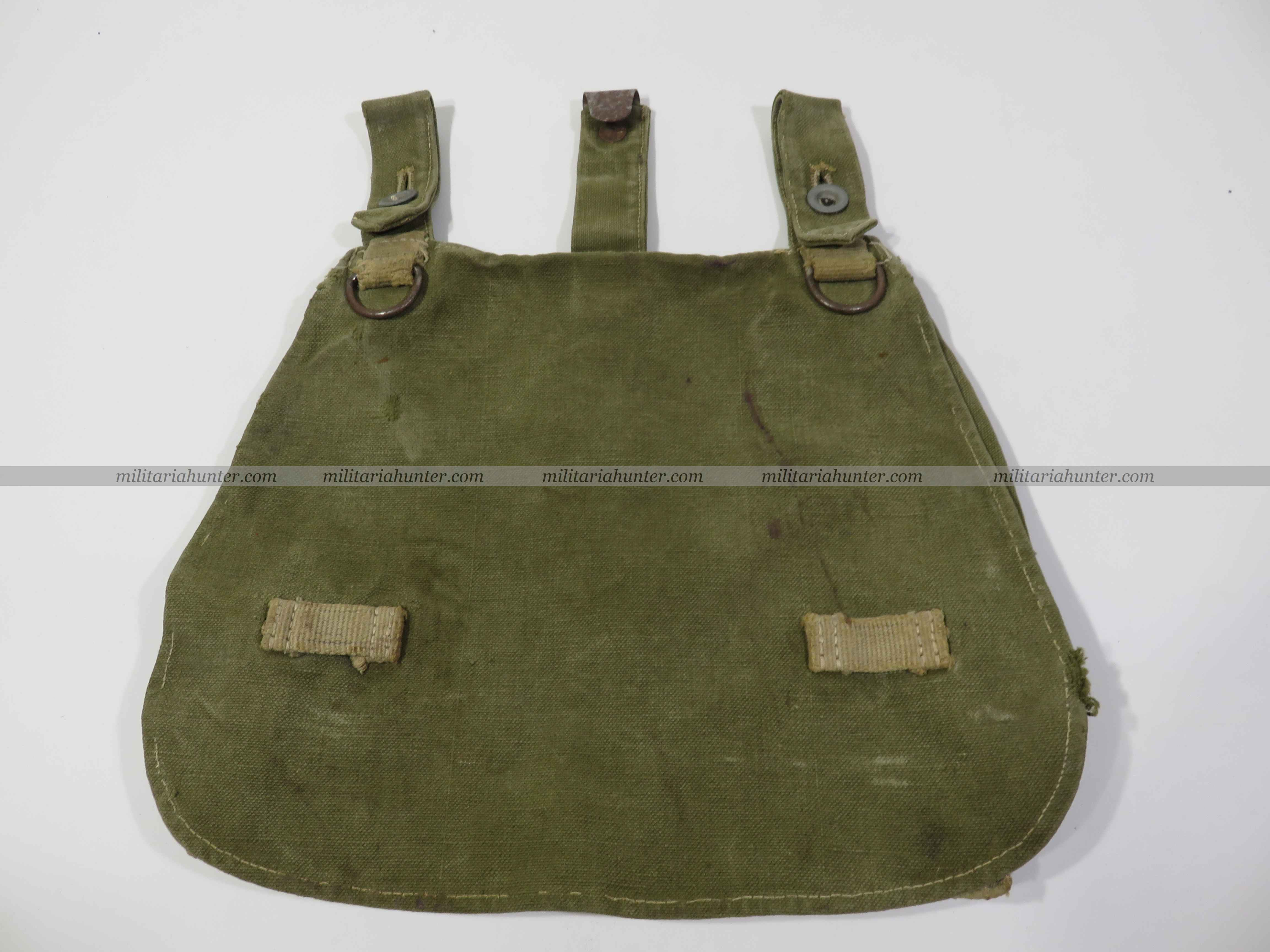 militaria : ww2 tropical / late war breadbag - Sac à pain tropical / fin de guerre - Brotbeu