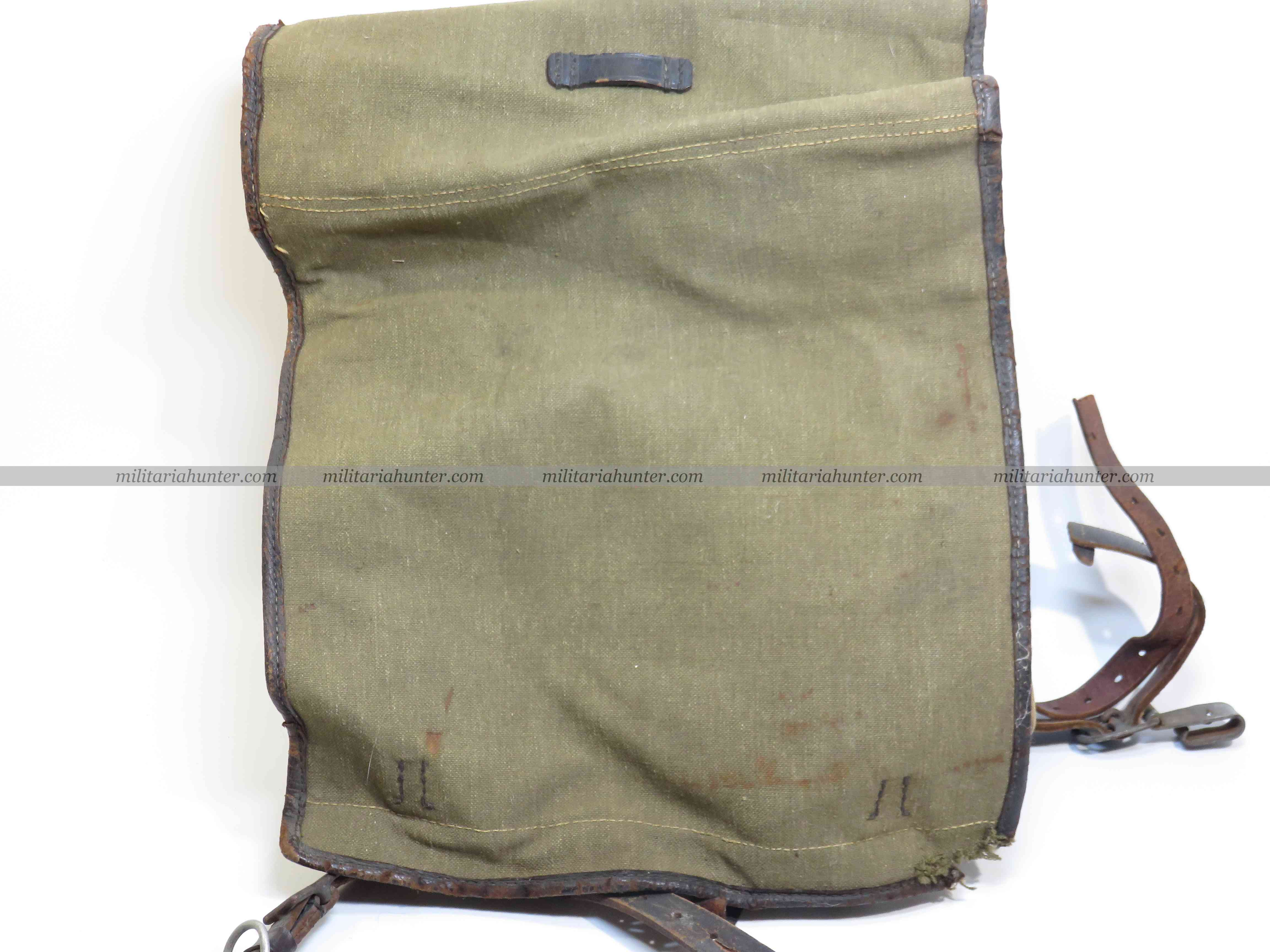 militaria : ww2 german backpack - Tornister allemand