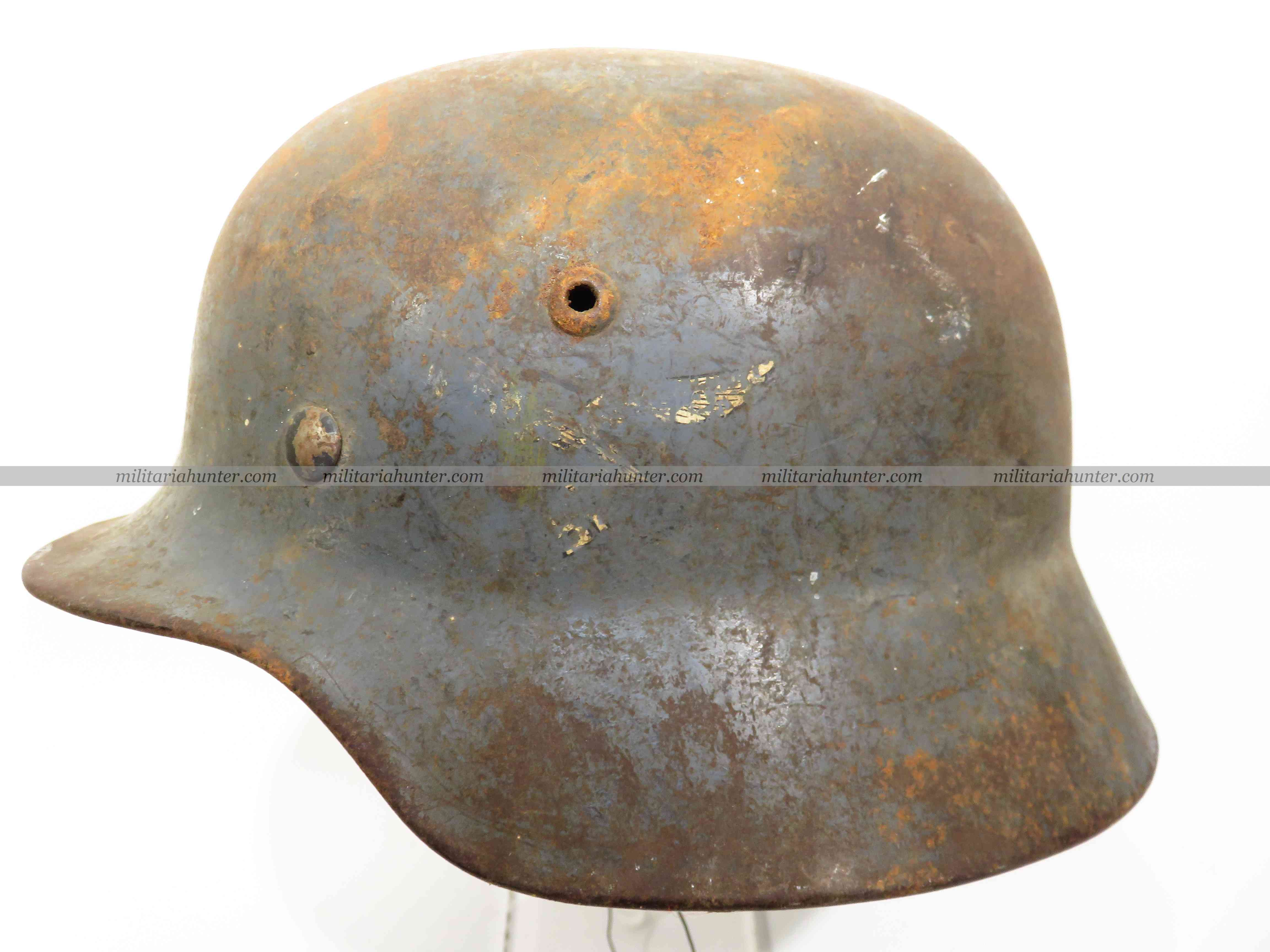 militaria : ww2 german helmet Stahlhelm M35 Luftwaffe SD